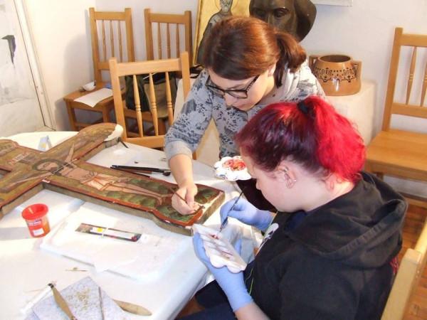 Tabara de conservare-restaurare icoane pe lemn